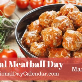 Happy Meatball Day
