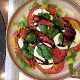 Quick/Easy Caprese Salad